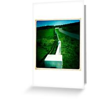 Wandering Fence Greeting Card