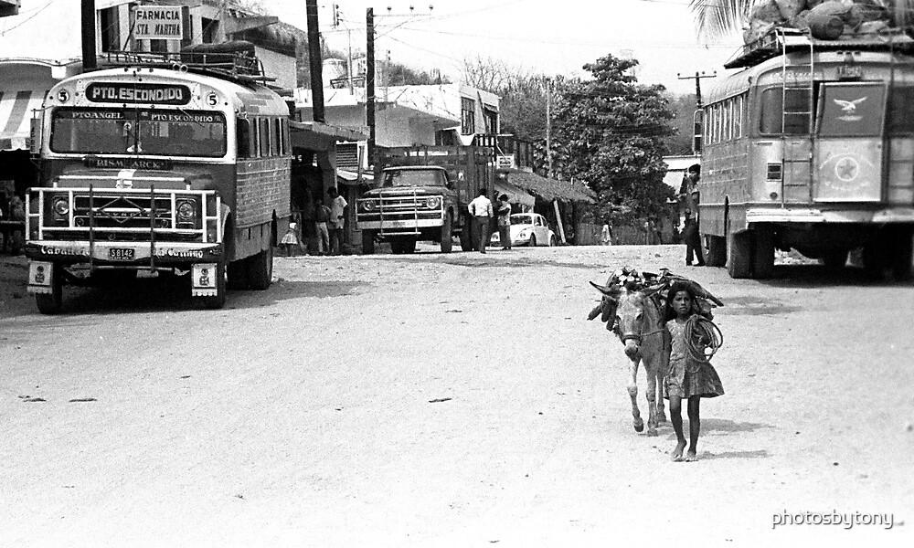 Main Street 2 , Puerto Escondido, Mexico by photosbytony