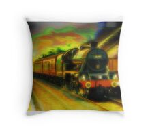 45699 Leander at Lazonby Throw Pillow