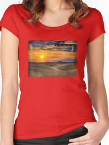 Skylab76 - Death Valley Days T-Shirt Women's Fitted Scoop T-Shirt