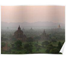 Beautiful Bagan Poster