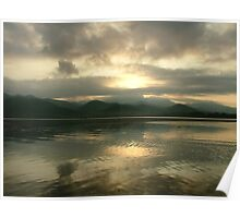 Dawn Over Inle Poster