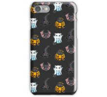 Cute Halloween Cat Kitten Bat Pattern iPhone Case/Skin