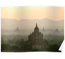 Temples of Bagan Poster