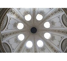 Roof of building from inside Vienna Austria Photographic Print