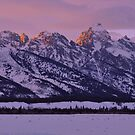 Mountain Light - The Tetons by Stephen Vecchiotti