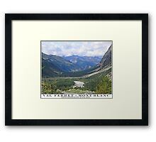 val ferret - mont blanc Framed Print