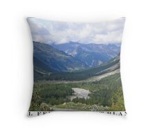 val ferret - mont blanc Throw Pillow
