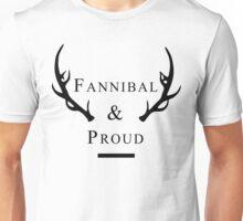 'Fannibal & Proud' (Black Font) Unisex T-Shirt
