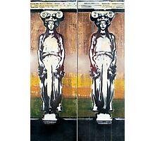 Caryatids Diptych #1 Photographic Print