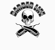 Barber Life Half Skull Unisex T-Shirt