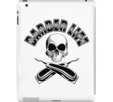 Barber Life Half Skull iPad Case/Skin