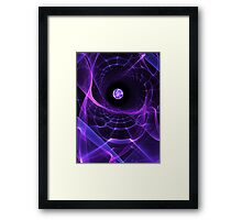 Wormhole Framed Print