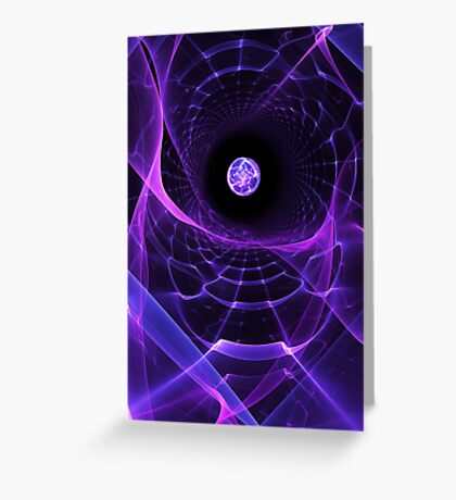 Wormhole Greeting Card