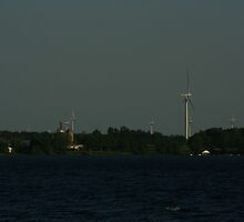 A view of Wolfe Island by Allen Lucas