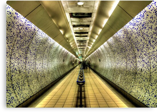 London Underground by Svetlana Sewell