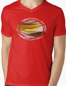 Harmony Abstract Art Mens V-Neck T-Shirt