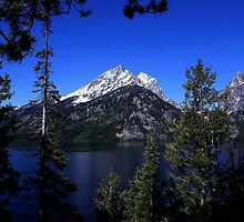 Jenny Lake & Teewinot Mountain - Grand Teton National Park, Teton County, WY by Rebel Kreklow