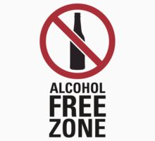Alcohol Free Zone - Light by destinysagent