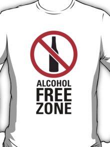Alcohol Free Zone - Light T-Shirt