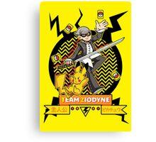 Pokemon x Persona - Team Ziodyne Canvas Print