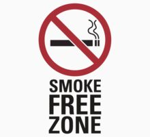 Smoke Free Zone - Dark by destinysagent
