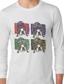 Boston Terrier Boston Sports Beanies Long Sleeve T-Shirt