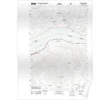 USGS Topo Map Washington Carson 20110816 TM Poster