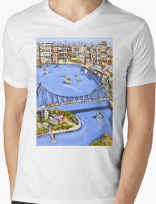 Under the bridge Mens V-Neck T-Shirt
