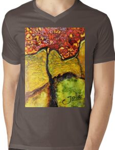 Tree of Wisdom.. Mens V-Neck T-Shirt