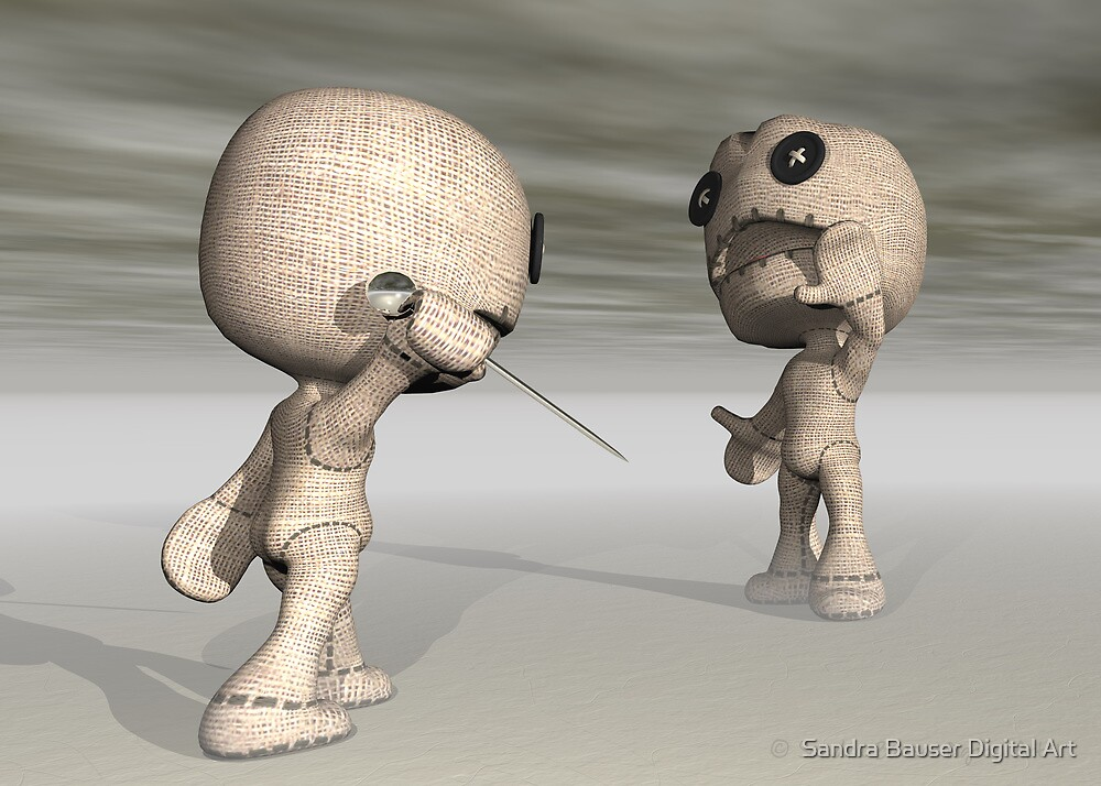 When Toys Go Bad by Sandra Bauser Digital Art