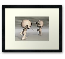 When Toys Go Bad Framed Print