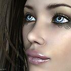 Narelle by Sandra Bauser Digital Art