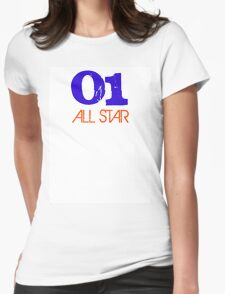 "All Star ""01"" Womens Fitted T-Shirt"