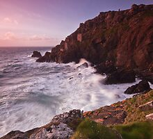 Botallack Copper Mine by Douglas  Latham