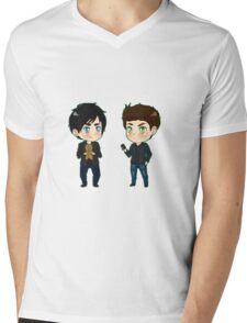 Stefan feelin' sensitive?  Mens V-Neck T-Shirt
