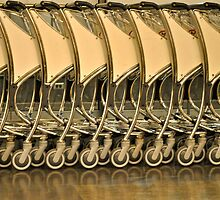 luggage trolleys by richard  webb