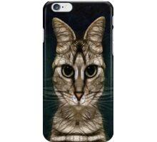 Jules Verne's Cat iPhone Case/Skin