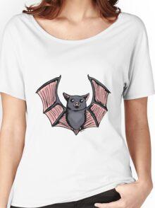 Cute Halloween Batty Women's Relaxed Fit T-Shirt