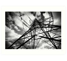 Pylon II Art Print