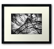 Pylon II Framed Print