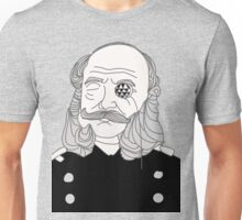 Taking Britain presents - the mutton chops Unisex T-Shirt