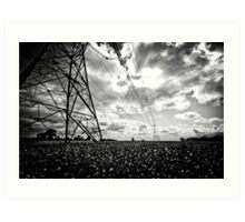Pylon I Art Print
