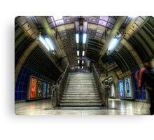 Underground Stairs Canvas Print