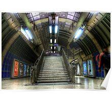 Underground Stairs Poster
