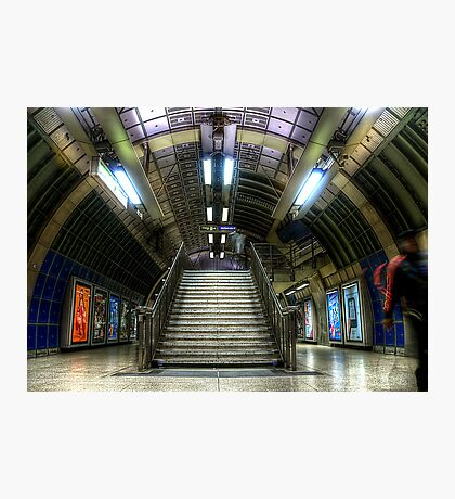 Underground Stairs Photographic Print