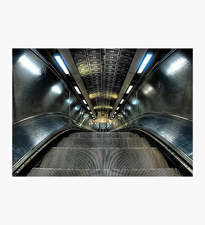 Escalator Photographic Print