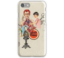 EL DIABLO SE ESCONDE DETRAS DE MIS TIJERAS (The devil hide behind my scissors) iPhone Case/Skin