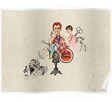 EL DIABLO SE ESCONDE DETRAS DE MIS TIJERAS (The devil hide behind my scissors) Poster