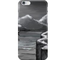 One Moon Light  iPhone Case/Skin